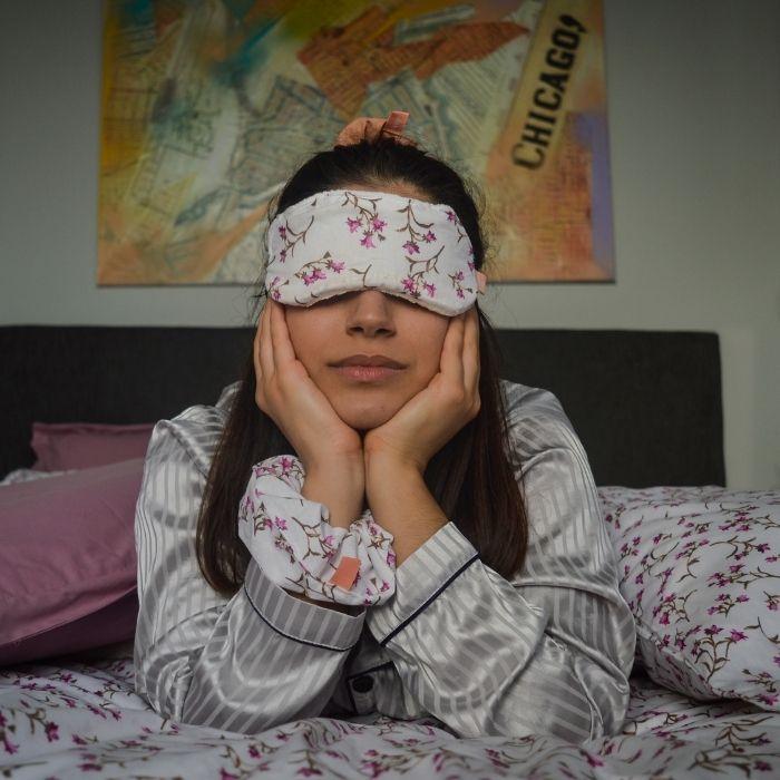Άνοιξη - μάσκα ύπνου