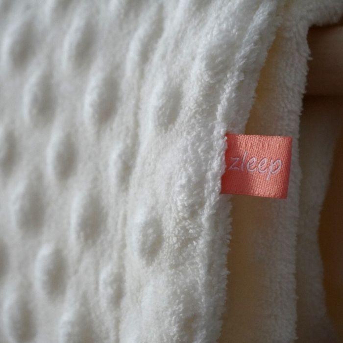 Κουβέρτα Minky λευκή